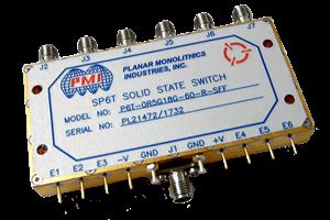Single Pole - Six Throw (SP6T)