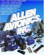 Allen Avionics Catalog
