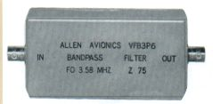 Band Pass/Reject Filters