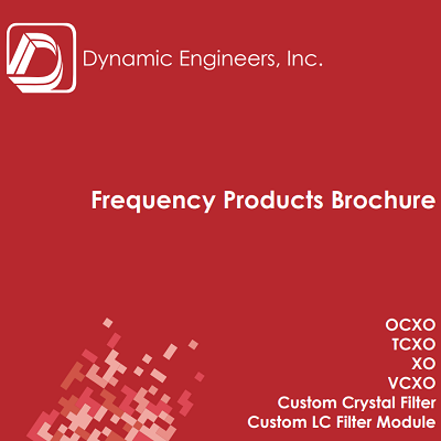 Frequency Products Brochure - May 2016
