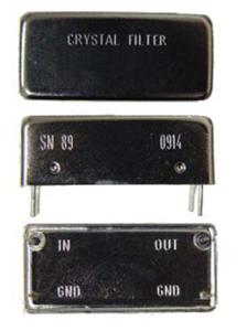 Narrow Band Crystal Filters
