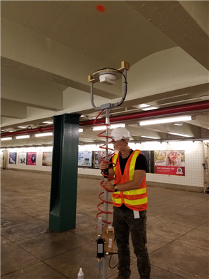 RD Microwaves Supports V-COMM Custom DAS Testing in NYC Subway