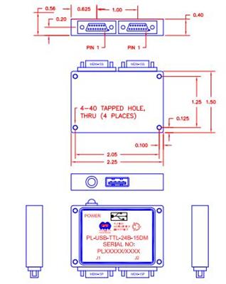 PL-USB-TTL-24B-15DM Image