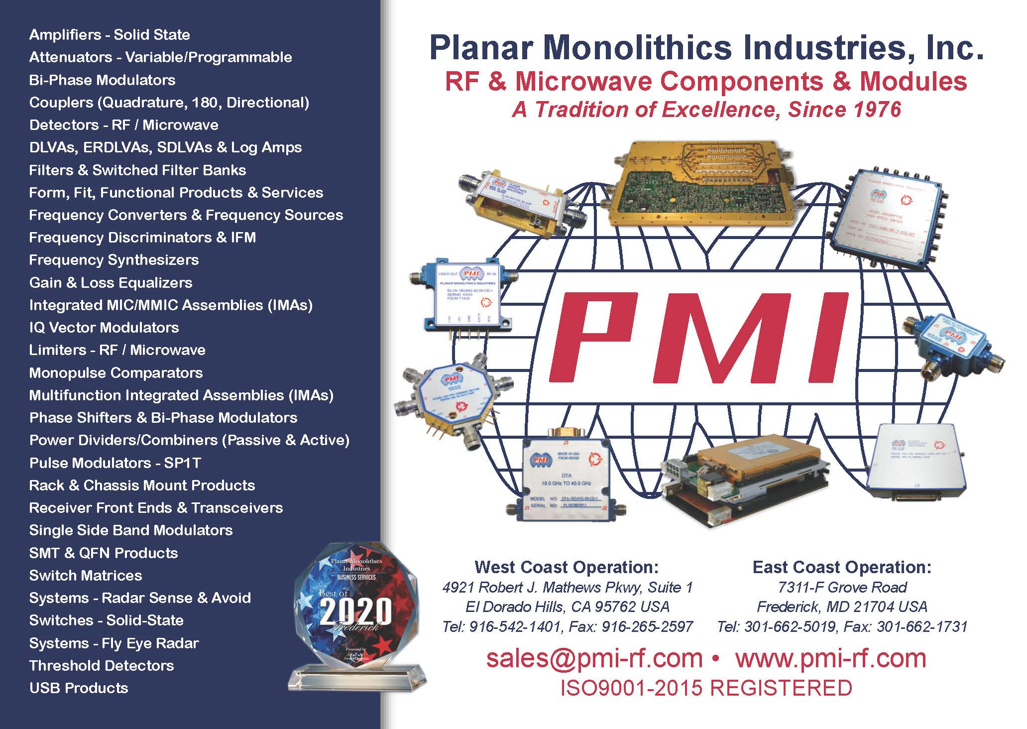 Click here to learn more about PMI Products
