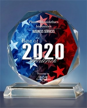 Planar Monolithics Industries Inc. Receives 2020 Best of Frederick Award